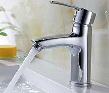 Kupfer Waschbecken heiß und kalt Becken