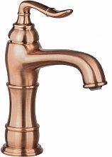 Kupfer Waschtischarmatur Nostalgie Wasserhahn