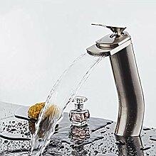 Kupfer Wasserfall Waschbecken Wasserhahn