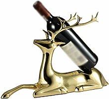 Kupfer Weinregal für Haustür, freistehende