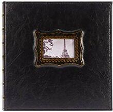 KUQIQI 6-Zoll-Leder-Fotoalbum,