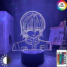 Kurapika Figur Acryl Nachtlicht Anime Geschenk