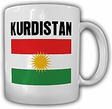 Kurdistan Kurden Fahne Flagge - Tasse Kaffee Becher #13323