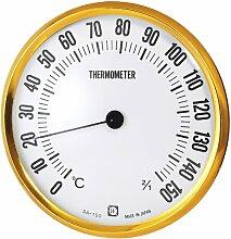 Kureseru trockene Sauna Thermometer Wand aufhängen für Durchmesser 15cm sa-150