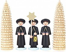 Kurrendefiguren mit Ringelbäumchen 5er-Gruppe