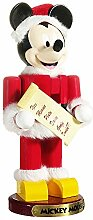 Kurt Adler 10-Inch Santa Mickey Mouse Nutcracker
