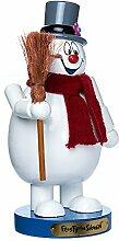 Kurt Adler 25,4cm Holz Frosty der Schneemann