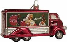 Kurt Adler Coca-Cola Glas-Truck-Ornament, 12,7 cm