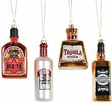 Kurt Adler Glass Bottle of Alcohol Ornament - 4