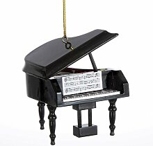 Kurt Adler Klavier aus Holz, Dekoration (7,62 cm)