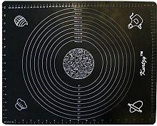Kurtzy Silikon Ausrollmatte - Antihaftende Gebäck