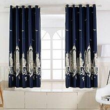 Kurze Vorhänge Alle Schattierungen Von Vorhängen Einfache Moderne Sonnenschutz Vorhänge [Kind] Schlafzimmer Wohnzimmer Kurzen Vorhang Auf - Ein 350 X 200 Cm (138 X 79 Zoll)