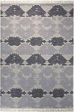 Kurzflor Designer Teppich Esprit Denim batik