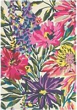 Kurzflor Designer Teppich Harlequin Floreale 44905