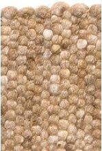 Kurzflor Designer Teppich Paulig Salsa 4 beige