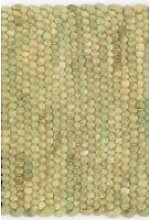 Kurzflor Designer Teppich Paulig Salsa 40 grün
