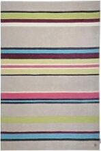 Kurzflor Designer Teppich Tom Tailor Life Stripes