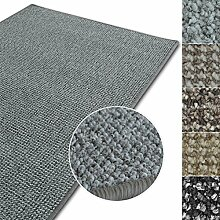 Kurzflor Teppich Carlton | Flachgewebe dezent