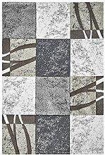 Kurzflor Teppich sand ca. 120 x 170 cm