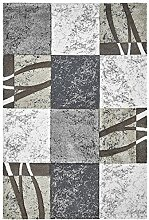 Kurzflor Teppich sand ca. 80 x 150 cm