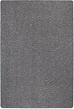 Kurzflorteppich Sisaloptik Wohnbereich Uni grau 240 x 340 cm. Weitere Farben und Größen verfügbar