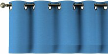 Kurzgardine mit Ösen, royalblau, 130 × 40 cm,