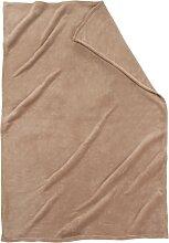 Kuscheldecke Cashmere Touch, braun (150/100 cm)