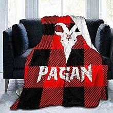 Kuscheldecke Horn Ziege Pagan Tree Hotel Decke