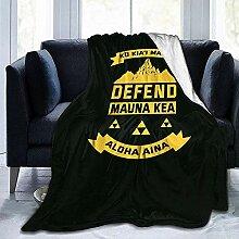 Kuscheldecke Verteidigen Sie Mauna Kea Schützen