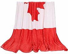 Kuscheldecke Wendedecke mit Flaggenmotiv