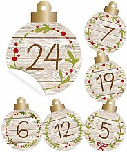 KuschelICH 24 Adventskalender-Zahlen