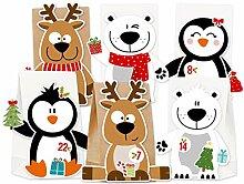 KuschelICH Adventskalender zum Befüllen Eisbär