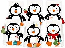 KuschelICH Adventskalender zum Befüllen Pinguin -