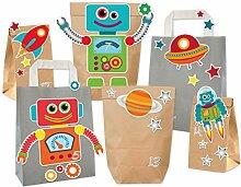 KuschelICH DIY Adventskalender Roboter Weltraum