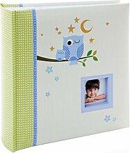 Kusso Sleepy Owl Series Kinder-Fotoalbum für 200