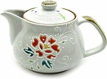 Kutani Yaki japanische Teekanne mit Teesieb