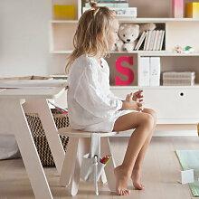 Kutikai Kindertisch aus Holz ´´Peekaboo´´ in natur (80x60x45 cm)