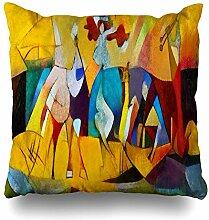 Kutita Decorativepillows Kissenbezüge, 45,7 x