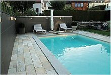 Kwad Pool de Luxe 8,0x4,0x1,5m