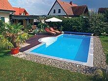 Kwad Pool PLUS 6,0x3,0x1,5m m. Treppe