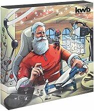 kwb 370210 Premium Adventskalender 2020 mit