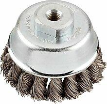 KWB 7192-10 AGGRESSO-FLEX Topfbürste, Stahldraht,