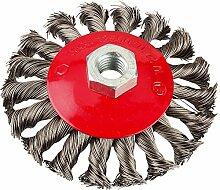 KWB Aggresso-Flex Kegelbürste, Stahldraht, 7193-30