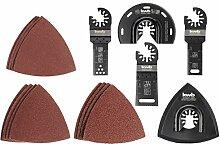 kwb by Einhell 17-tlg Multi-Tool-Set für Holz,