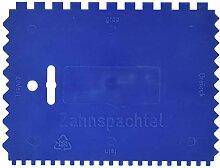 KWB Kunststoff-Zahnspachtel, 032900 (4-seitig
