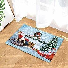 Kwboo EIN Weihnachtsmann Sitzt In Einem