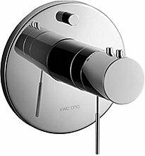 KWC Fertigmontageset Bad Ono, Thermostat, ganzchrom, 20.154.480.000
