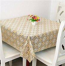 KWERSZB Europäische Tischdecke Tischdecke Quadrat
