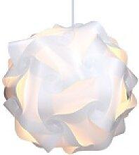 kwmobile Dekolicht, DIY Puzzle Lampe XL