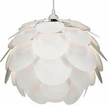 kwmobile DIY Puzzle Lampe Blüten Design -